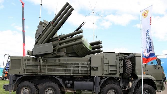 Hệ thống pháo, súng máy phòng không Pantsir-S2 (ảnh minh họa)