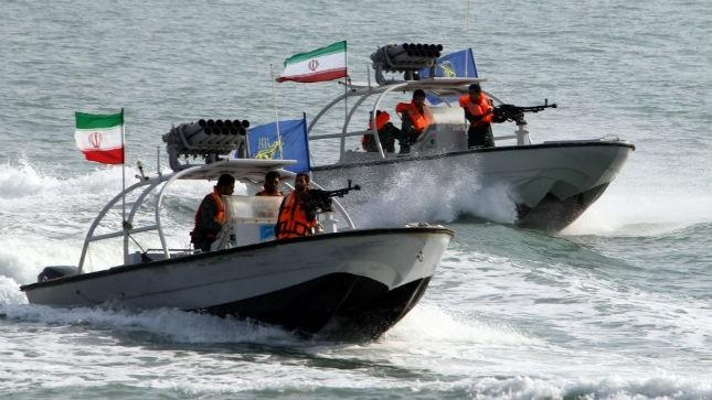 Tàu tuần tra cao tốc của Hải quân Iran.
