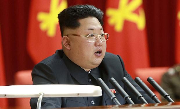 Chủ tịch Triều Tiên Kim Jong Un.