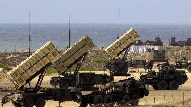 Tên lửa đánh chặn Patriot của quân đội Mỹ.