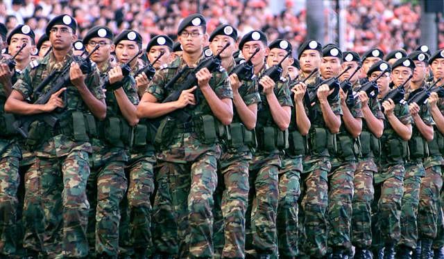 Quân đội SIngapore (ảnh minh họa)