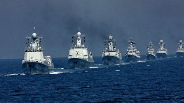 Tàu chiến của Hải quân Trung Quốc (ảnh minh họa).