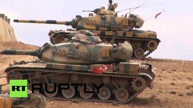 Xe tăng của quân đội Thổ Nhĩ Kỳ (ảnh minh họa).