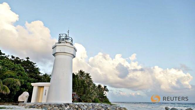 Đảo Ba Bình ở quần đảo Trường Sa của Việt Nam đang bị Đài Loan chiếm đóng. Ảnh: Reuters