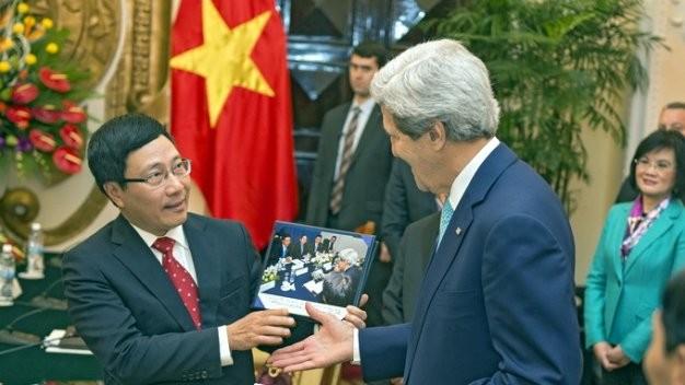 Quan hệ ngoại giao Mỹ - Việt (ảnh minh họa)