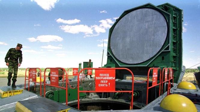 Hầm phóng tên lửa đạn đạo xuyên lục địa của Nga (ảnh minh họa).