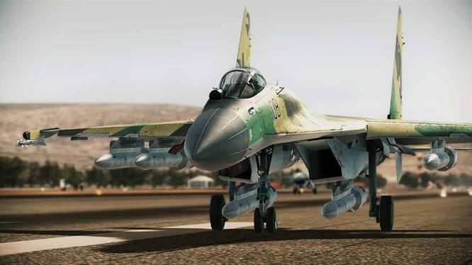 Máy bay chiến đấu S-35 của Không quân Nga.