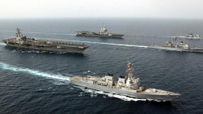 Quân đội Mỹ-Pháp chuẩn bị tuần tra chung trên Biển Đông?