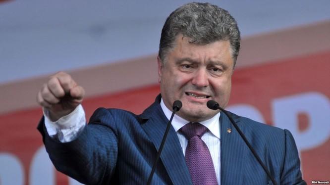 Tổng thống Ukraine Pyotr Poroshenko.