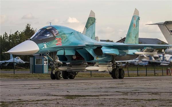 Máy bay Su-34 do Nga sản xuất.
