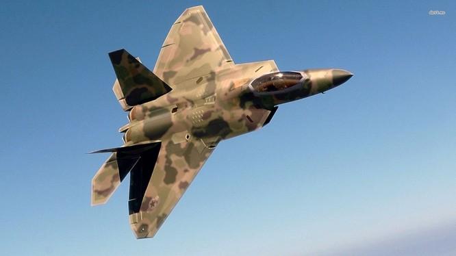 Tàng hình cơ F-22 của Mỹ.