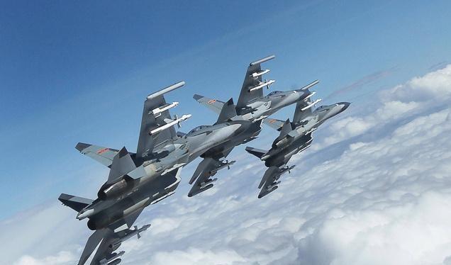 Máy bay của quân đội TQ (ảnh minh họa)