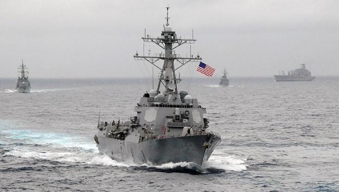 Quân Mỹ, Hàn tập trận hải quân quanh Bán đảo Triều Tiên