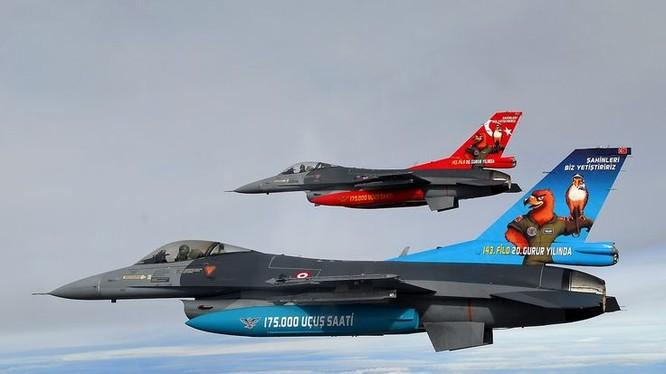 Không quân Thổ Nhĩ Kỳ (ảnh minh họa).