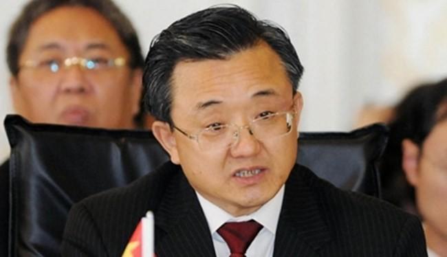 Thứ trưởng Ngoại giao Trung Quốc Lưu Chấn Dân.