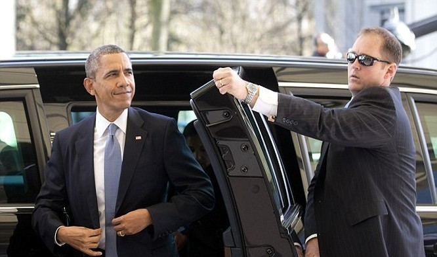 Tổng thống Obama thăm Việt Nam, chỉ mật vụ Mỹ được mở cửa xe