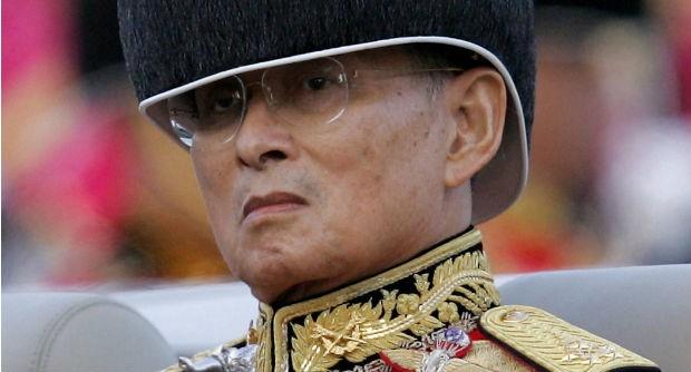 Ông Bhumibol Adulyadej .