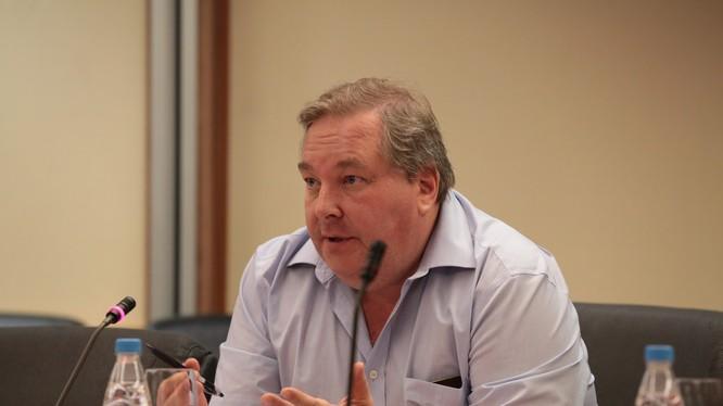 Chuyên gia Nga Dmitry Mosyakov.