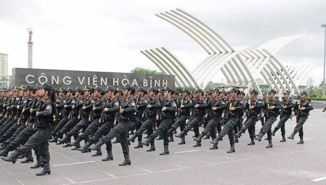 Cảnh sát cơ động Việt Nam (ảnh minh họa).