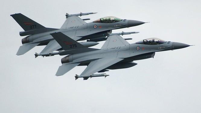 Máy bay chiến đấu F-16 của Mỹ (ảnh minh họa, Sputnik).