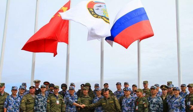Trung Quốc và Nga lần đầu tiên tổ chức diễn tập phòng thủ tên lửa liên hợp. Nguồn ảnh: Tân Hoa xã/Đa Chiều.