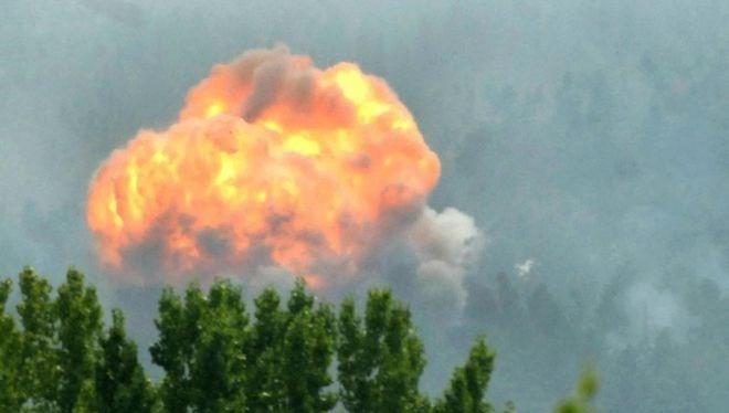 Cháy kho đạn của quân đội Ấn Độ, ít nhất 17 người chết