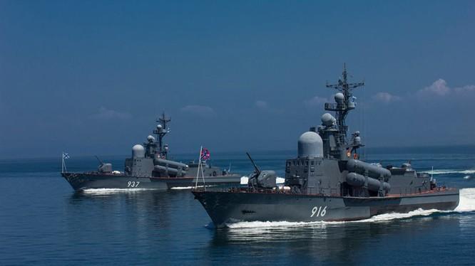 Tàu chiến của Hạm đội Thái Bình Dương (Nga).