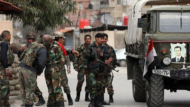Quân đội chính phủ Syria (ảnh minh họa).