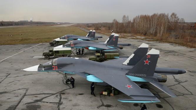 Nga đã triển khai các oanh tạc cơ Su-34 mới đến Komsomolsk-on-Amur