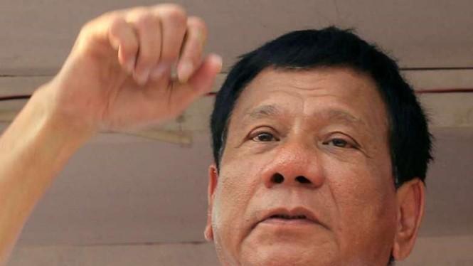 Tổng thống tân cử Philippines, ông Rodrigo Duterte.