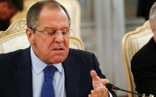 Ngoại trưởng Nga Sergey Lavrov .