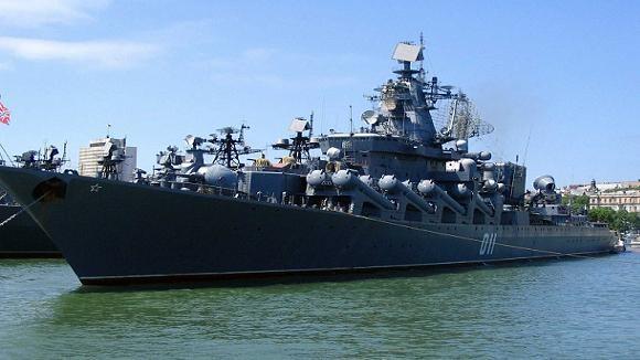Tàu chiến của Hạm đội Thái Bình Dương Nga (ảnh minh họa).