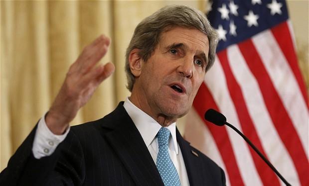 Ông John Kerry.