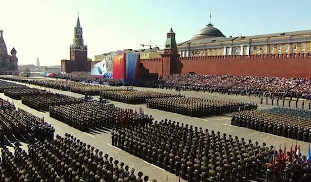 Quân đội Nga tham gia duyệt binh (ảnh minh họa)