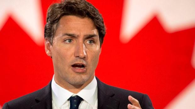 Ông Justin Trudeau.