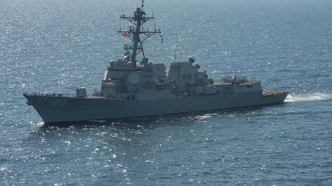 Nga sẽ đáp trả việc tàu Mỹ cơ động vào Biển Đen?