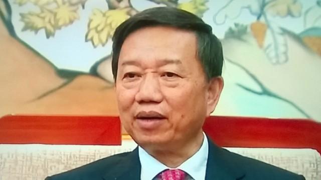 Thượng tướng Tô Lâm, Ủy viên Bộ Chính trị, Bộ trưởng Bộ Công an.