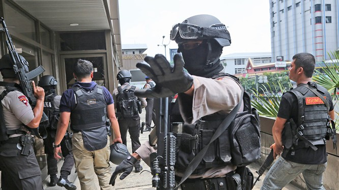 Indonesia bắt giữ nghi phạm liên quan đến IS