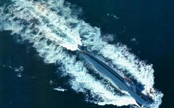 Tàu ngầm hạt nhân chiến lược Trung Quốc. Nguồn ảnh: Thời báo Hoàn Cầu, Trung Quốc.
