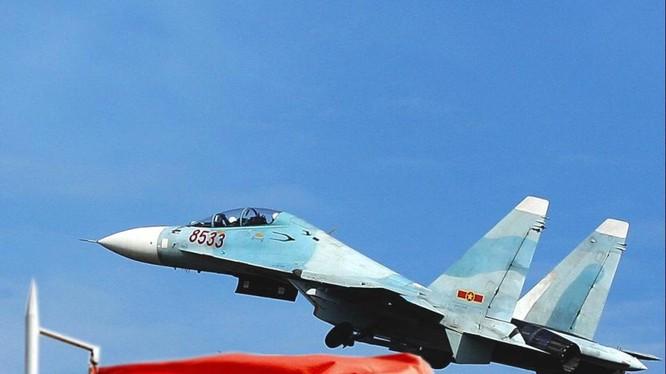 Máy bay chiến đấu Su-30 của Không quân Việt Nam (ảnh minh họa)