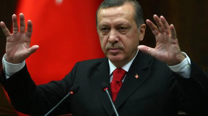 Tổng thống Thổ Nhĩ Kỳ Erdogan