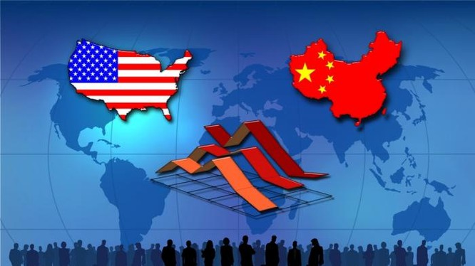 """Mỹ và Trung Quốc đang """"vờn nhau"""" giữa lợi ích kinh tế và mâu thuẫn."""
