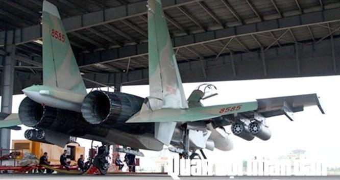 Máy bay chiến đấu Su-30 của Không quân Việt Nam.