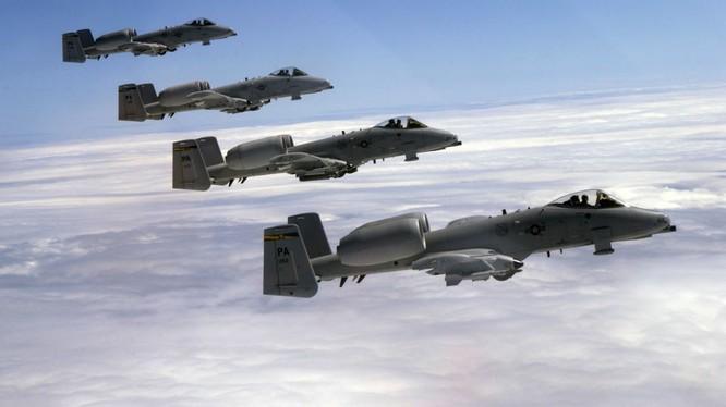 Máy bay của Không quân Mỹ (ảnh minh họa).