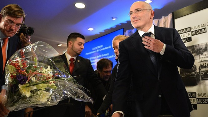 Doanh nhân Nga Khodorkovsky.
