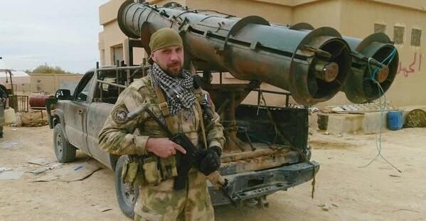 Một binh sỹ đặc nhiệm Nga ở Syria (ảnh minh họa)