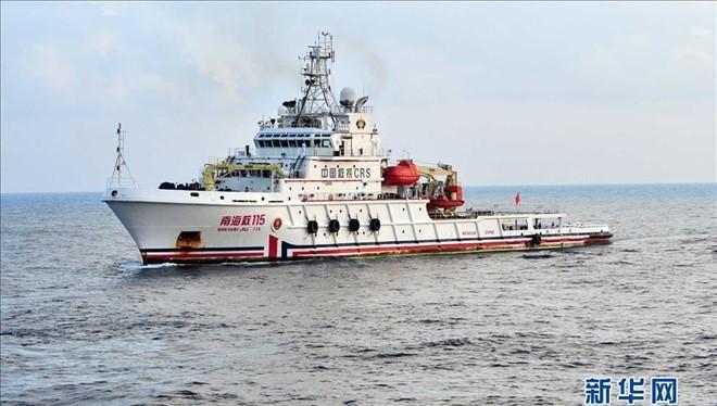 Một tàu cứu hộ của Hải quân Trung Quốc. Ảnh minh họa: Tân Hoa xã