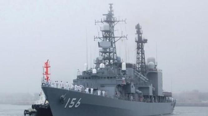 Nhật Bản điều tàu hộ vệ đến vùng biển đảo Senkaku giám sát tàu chiến Trung Quốc và Nga. Nguồn ảnh: Tin tức Tham khảo.