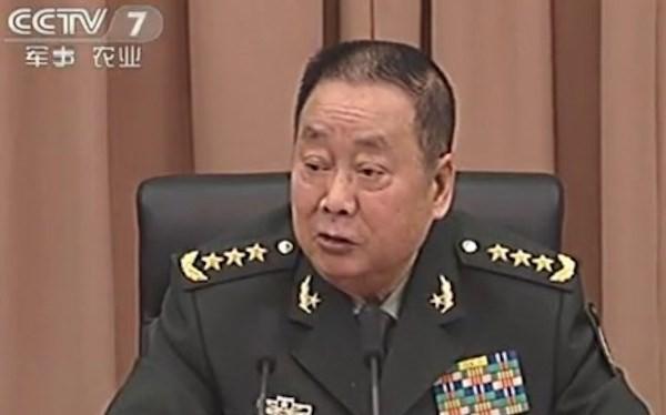 Cựu Tổng cục trưởng Tổng cục Hậu cần PLA, Tướng Liêu Tích Long. (Nguồn: CCTV)