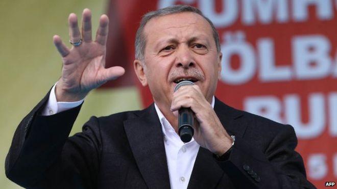 Tổng thống Thổ Nhĩ Kỳ Recep Tayyip Erdogan.